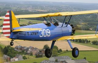Le Stearman en vol