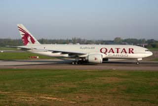 Boeing 777F Qatar Airways Cargo